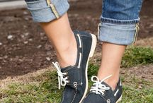 Boat Shoes / Boat shoes look great, whether you wear them on your boat or not. Here are some of our favorites...
