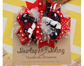 Holiday Hairbows / Here is where we will share the Burlap and Bling Handmade Brand Holiday Hair Bows / by Burlap and Bling Handmade Accessories
