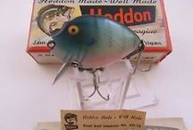 Antique Fishing Lures / Lures I Like / by LadyBugsInTheAttic
