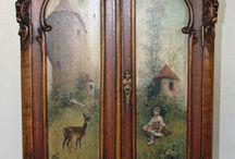 armadio decorato