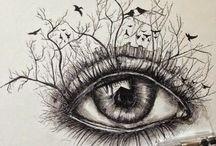 blyants tegninger