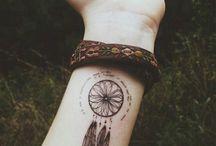 Tatouage au poignet