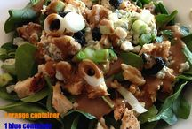 Food-Salads and Sandwiches