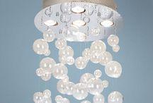 Bubble Light Fixture – A Unique Decoration Idea