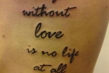 tattoos / by Sadie Wilson