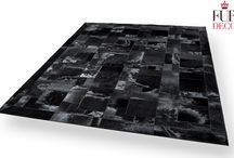 Leather Rugs / Handmade leather area rugs.