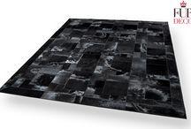 Leather Rugs / Handmade leather area rugs.