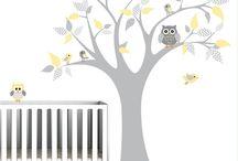 Nursery stickers