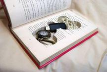 porta joias no livro