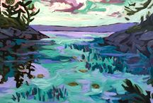 Canadian Landscapes / Canadian Landscapes by SANTINI GALLERY artists.