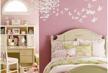 Rosie room ideas / by Laura Vernon