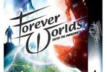 Forever Worlds / CD-ROM game from Hexagon Entertainment (now owned by Nordic Games Holding - an Austrian computer game publisher)