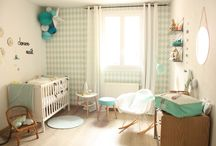 Chambre bébé garçon pastel