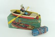 Antique & Vintage Toys by Louis Marx Tin Windup Steel & More!