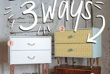 DIY FURNITURE / How to upcycle, recycle & your own furniture.