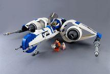 Lego vaisseau base