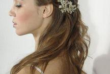 peinado novia civil