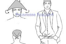 Nouer un foulard sur la tête