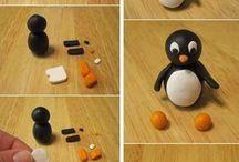 Fondant Pinguin