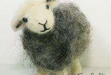 felted sheep tutorial
