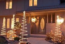 Christmas outdoor light ideas