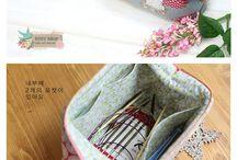 Pouch ideas / Makeup Bag