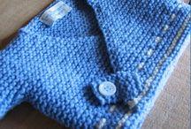Knitting children - Tricoté pour bébés et enfants