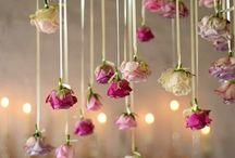 decoracion con rosaa