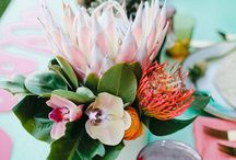 VIBRANT TROPICAL WEDDING.