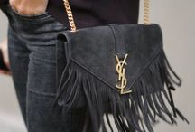 Fringe bags and shoes