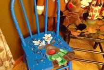 malˇovane stoličky