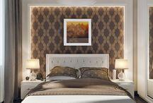 yatak odası duvarı