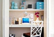 Closet office / by Maria Gavardinas