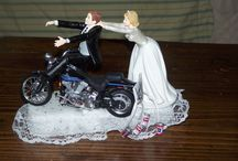 Idea's for Wedding Gifts, Reception, all things wedding. / Please feel free to post anything that goes along with wedding ceremony / reception. Gifts for Mother of Bride bride maids etc. I made wedding cake toppers for years. Its not hard you just need to know where to buy the supplies and how to transform the figures. I will be happy to help you find the characters and the elements to put your own Cake topper together. Message me with questions.