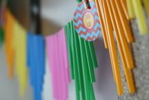 Fiesta time / Colorfull birthday party decorations