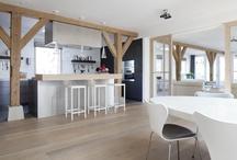 Maison Belle  ♥ wood - hout / wood interior