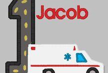 EMT Ambulance BIrthday