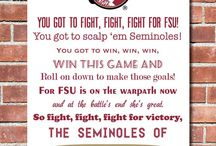 Go Noles! / I've pinned plenty before but I don't know why I didn't give it it's own board. Silly me! / by Kat Hambor