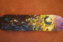 Skateboard Art / by Jennie O'Leary