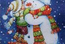 зима Рождество