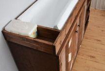 pallet furniture / by Haley Crist