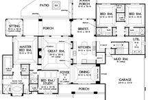 home floor plans / by Pamala Coffey