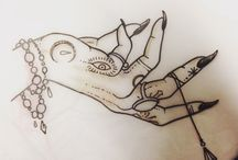 Witchy tattoo