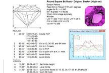 Faceting / Faceting diagrams or instructions and other faceting related information