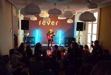 FEVER / Colaboración de Agy Events en los conciertos de Virginia Labuat, Maria Villalon, Sergio Rojas, etc. a través de la aplicación Fever