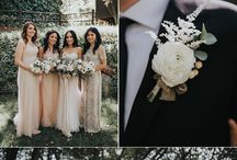 Spring tent wedding in navy and blush / Ideas for a tented wedding in Seattle in May.