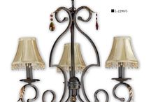 JOALPA - Serie DAFOR / Serie DAFOR Lámparas clásicas hasta 30 luces, de dimensiones muy grandes, especial para hoteles, casas rurales, restaurantes y espacios con techos muy altos.