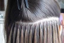 extenciones y peinados