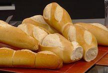PANES | BREAD | ACCESORIOS DE PANADERÍA / Elaboración de panes de todo tipo. Pan dulce. Pan salado. Pan integral.  Pan salvado.  / by MONTAGNA