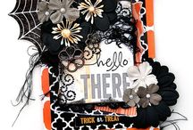 greeting cards - Halloween / Hallowe'en cards, crafts and decorations